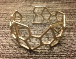 Pentagonal Hexacontahedron Bracelet 3D Model