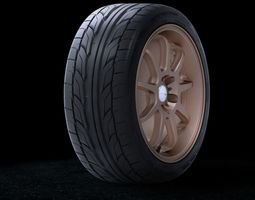 3D Tyre Nitto555