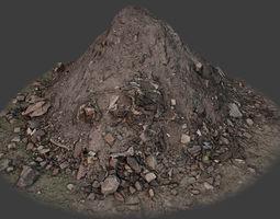 Garbage Pile 3D asset