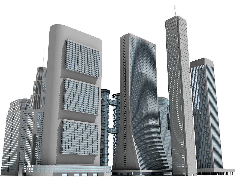 12 Buildings 3D Models