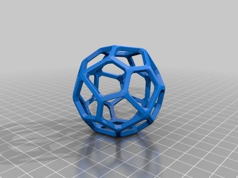 pentagonal icositetrahedron free 3d model 3d printable stl