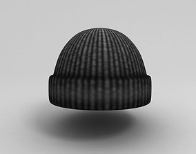 Wool Hat 3D asset