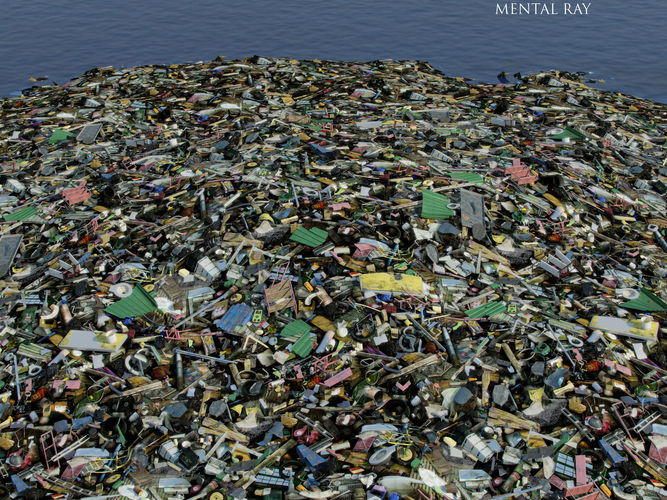 Garbage Dump Site 3d Model Max Obj Fbx