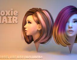 hair Roxie Hair 3D
