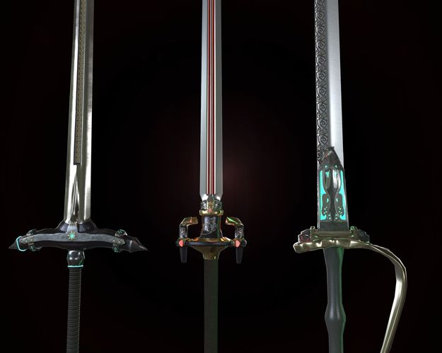 Stylized Heavy blade pack