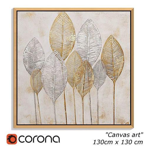 painting frame canvas art 026 3d model low-poly max obj mtl fbx flt mat 1