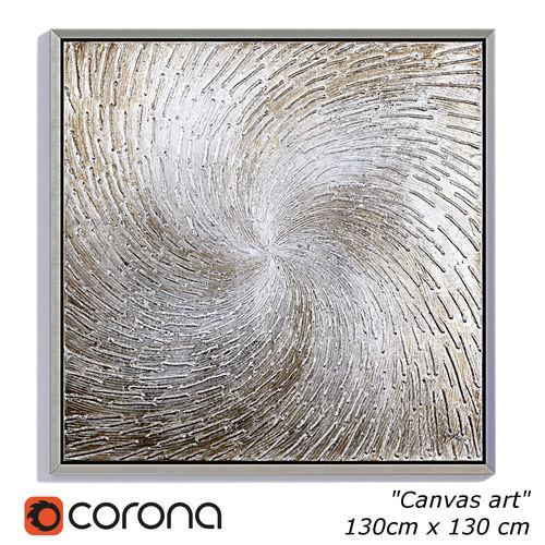 3D asset Painting frame Canvas art 027   CGTrader
