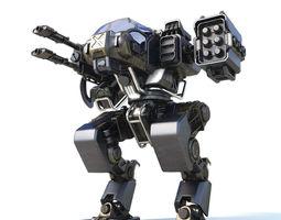 Robot warrior 3D