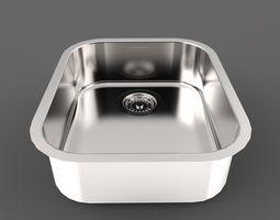 3D Franke Ariane ARX 110-35 Built in sink