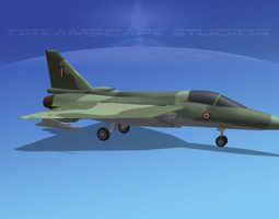 HAL Tejas Fighter V02 3D Model