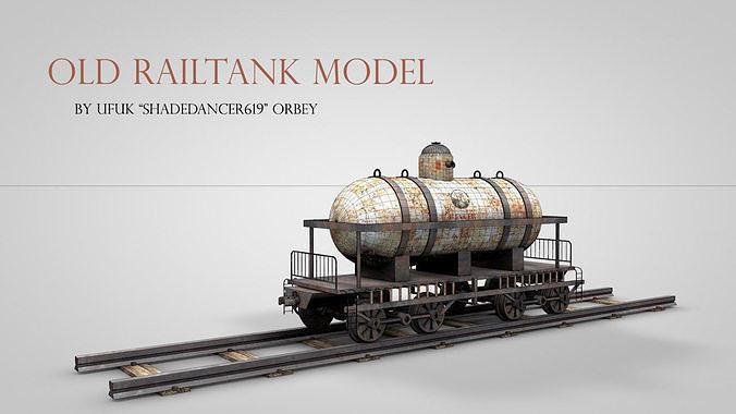 Old Railtank