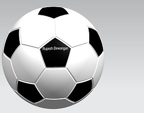 3D printable model Football
