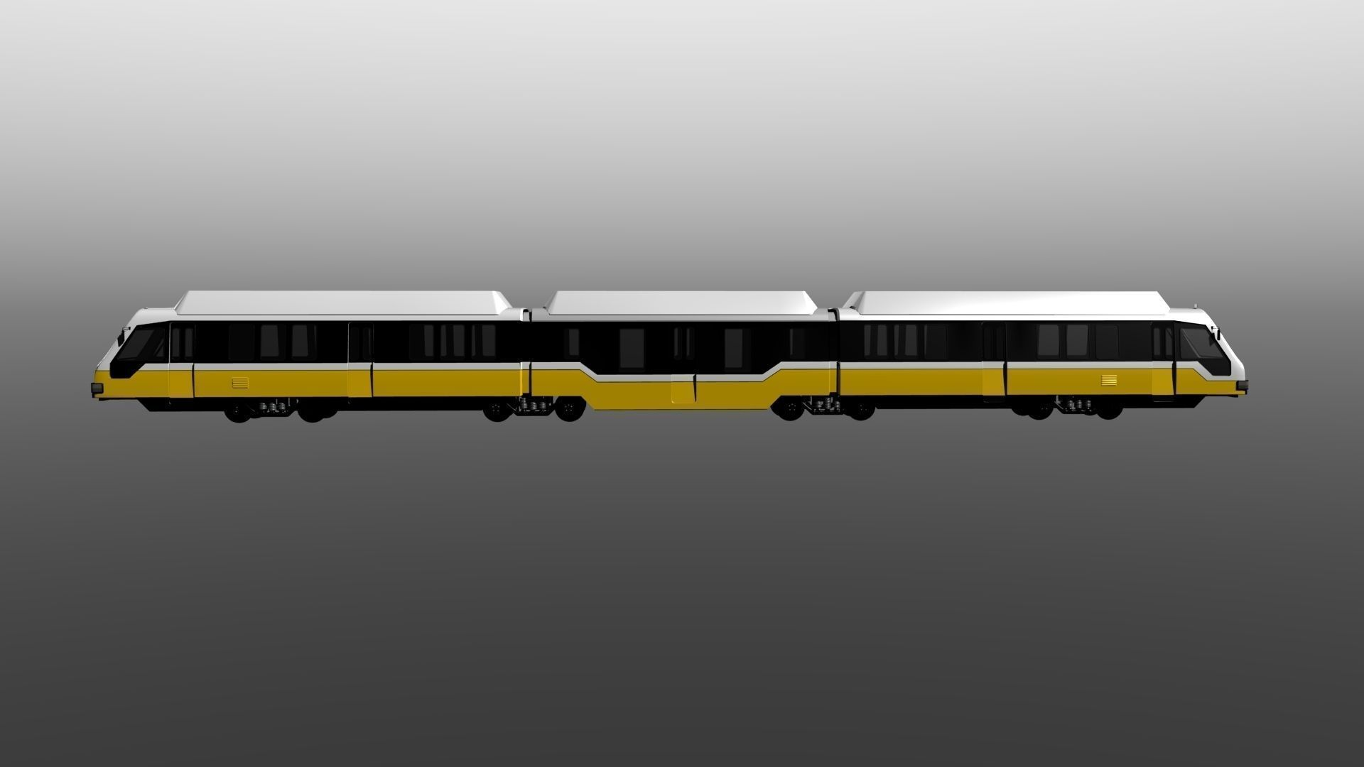 Dart Light Rail 3d Model Obj Lwo Lw Lws Cgtrader Com