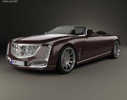 3D Cadillac Ciel 2011