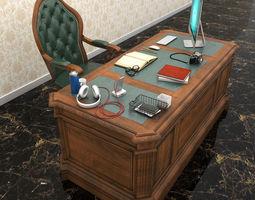 3D model Office Set 2