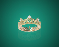 crown rings 3D Model