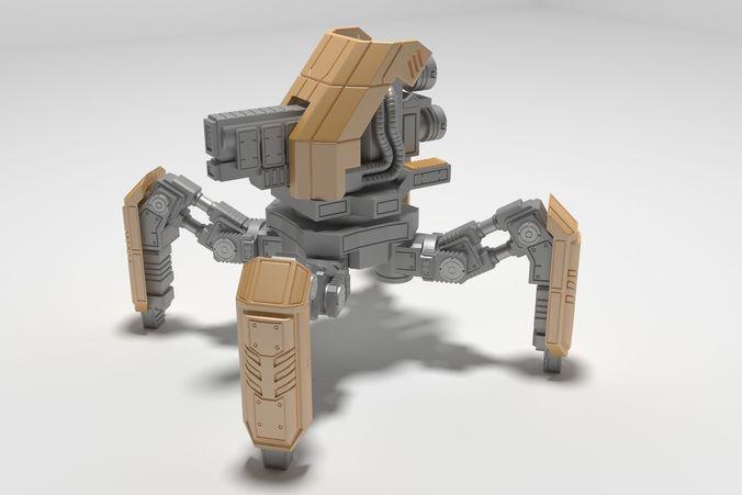 Mech SpyderBOT