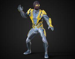 Black Lightning 3D