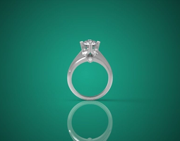 Diamond  Ring nnjw3 3D Model
