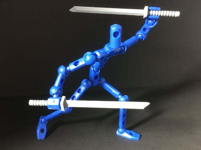 shinobi blade for modibot 3d model stl 1