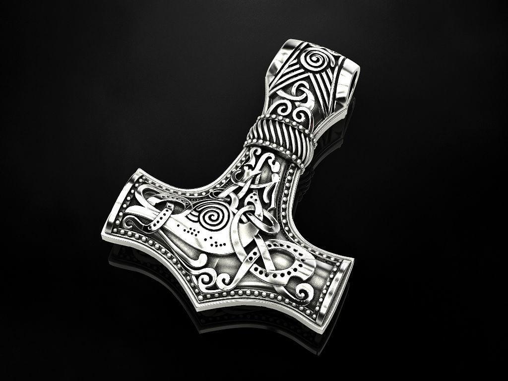 Hammer Torah pendant amulet