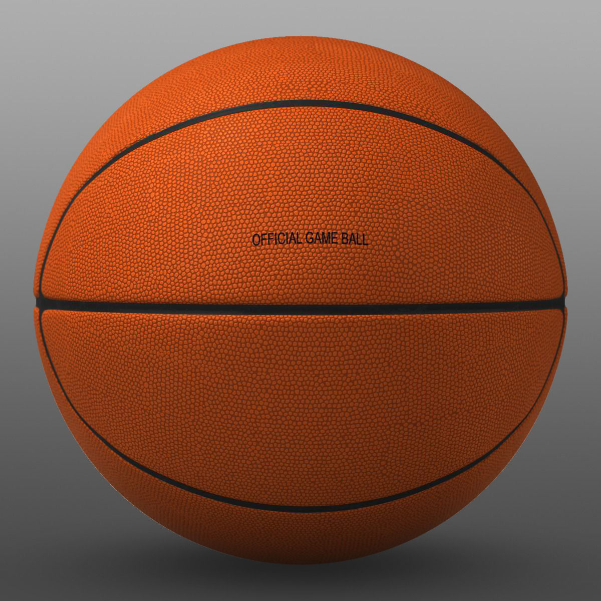 House Architectural Orange Basketball Ball 3d Model Game Ready Max Obj 3ds