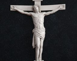 3D print model Jesus cross crucifixion