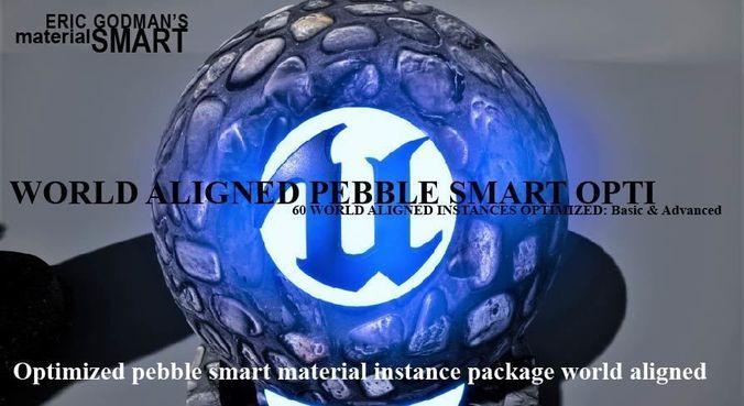 optimized pebble world aligned materials 3d model uasset 1
