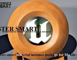 3D model Plaster Materials