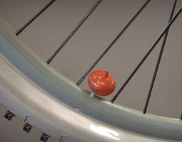 Valve Cap Pumpkin 3D Model