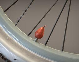 Valve Cap Pear 3D Model