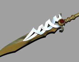 Knife pendant 3D printable model