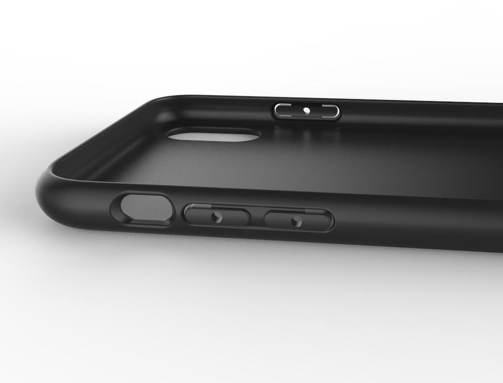 Original customizable design iphone x black case  3D model