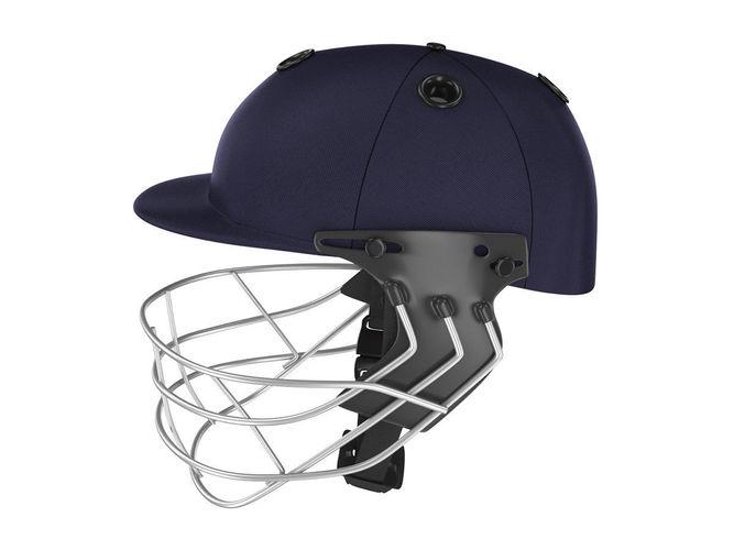 cricket helmet 3d model max obj 3ds fbx c4d lwo lw lws 1