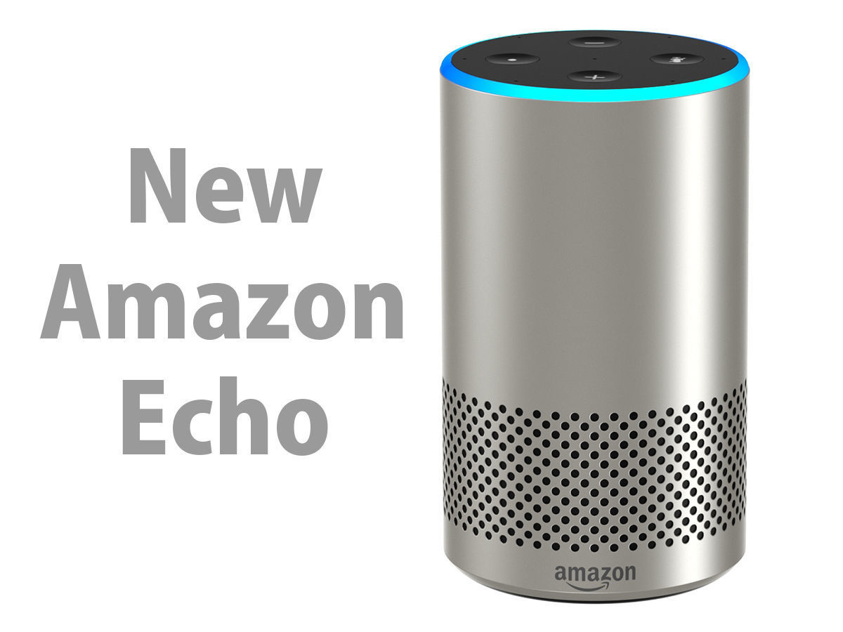 0a21eed41b893 New Amazon Echo 2018 Silver Finish | 3D model