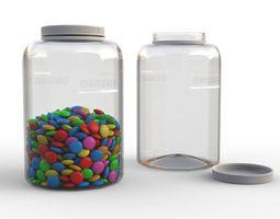 3D model Candy Bottle