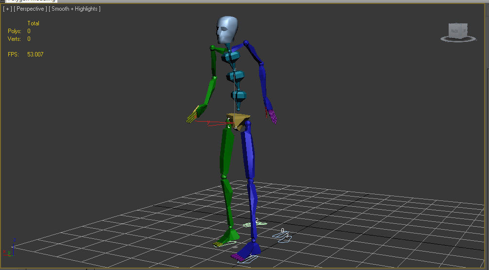 100 Looping Motion Capture Files | 3D model