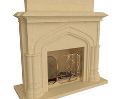 3D design Fireplace