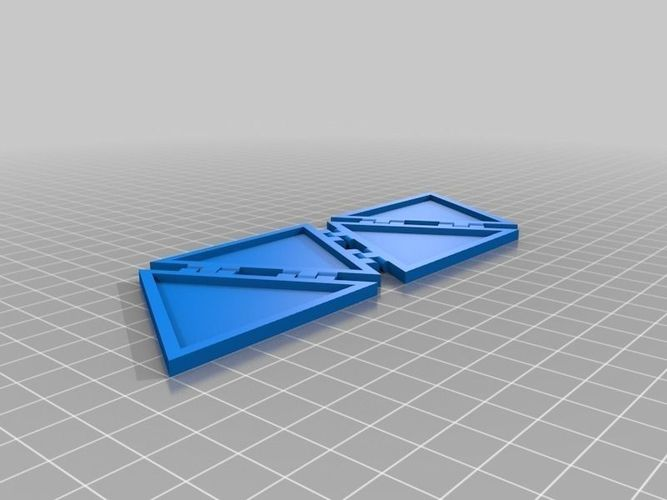Tetrahinge free 3d model 3d printable stl 3d printer models free