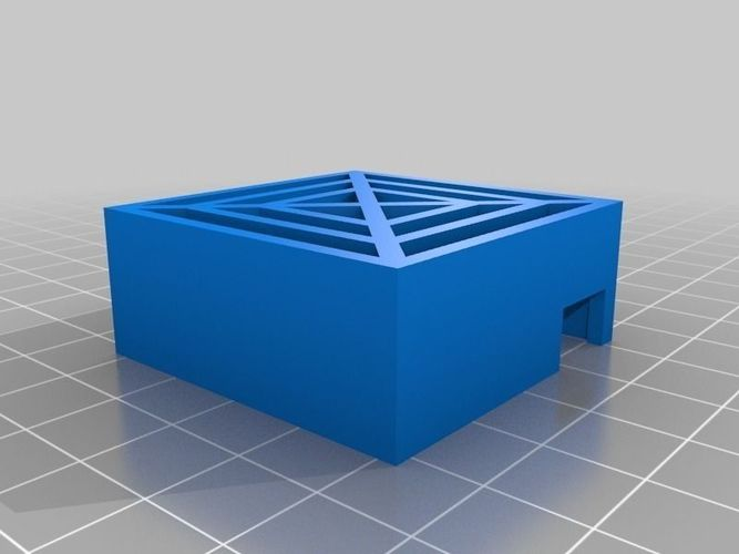 Afinia fan grate free 3d model 3d printable stl 3d printer models free