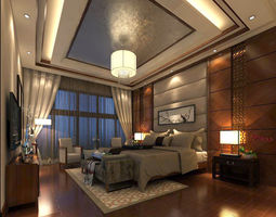 Beautifully stylish and luxurious bedrooms 132 3D