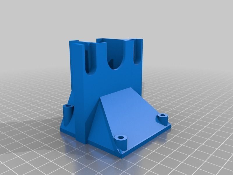 3d hair style 3dcr style prusa i3 j wades extruder free 3d 6429