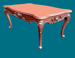 3D print model coffee table classic