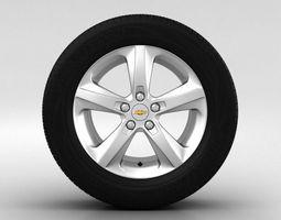 Chevrolet Cruze Wheel 16 inch 002 3D Model