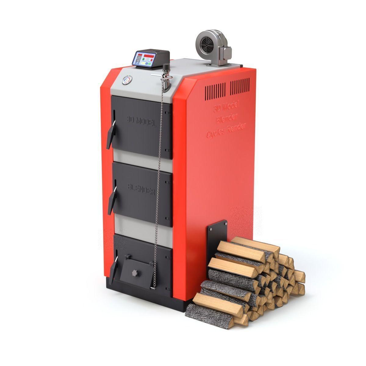 Solid Fuel Burning Boiler