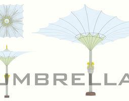 Umbrella 3D model VR / AR ready
