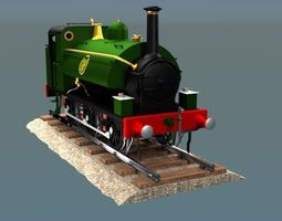 GWR 060 Saddle tank 3D