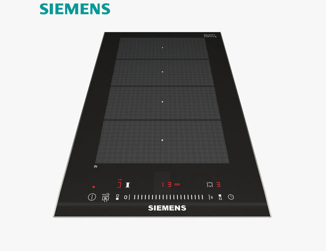 siemens iq700 stainless steel side trim with bevelled front edge 3d model max obj mtl 3ds fbx 1