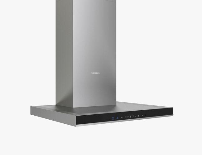 siemens wall chimney hood iq700 lc68ba572 60cm 3d model max obj mtl 3ds fbx 1