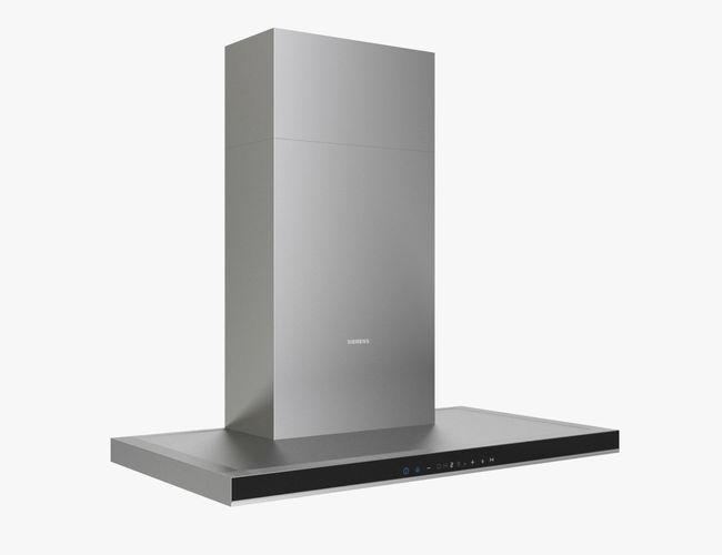 siemens wall chimney hood iq700 lc98ba572 90cm 3d model max obj mtl 3ds fbx 1